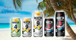 Orion Beer Releases First Chuhai Flavors