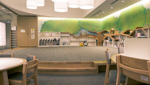 Okinawa Prefectural Library kid's area