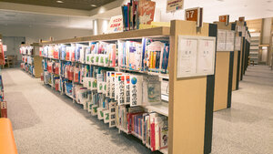 Okinawa Prefectural Library foreign language books (English, Spanish, etc.)