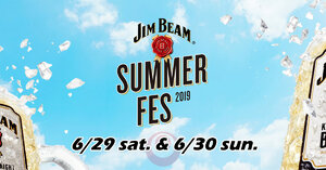 Jim Beam Summer Fes 2019 — Free Entrance!