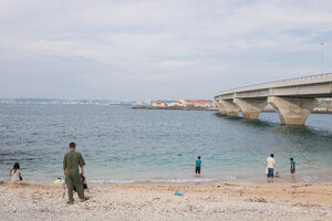 Satohama Beach (Kamaji) bridge