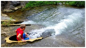 Kid-sized fun and pools on Ura River