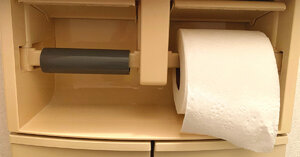 Keeping Your Toilet Paper Roll Secure