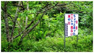 Never swim alone and swim at your own risk while at Takazato Dam pond