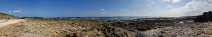 Panorama of Yamashiro Coast when the tide is out
