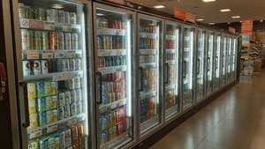 A wide selection of beer and chuhais to pick from at MaxValue