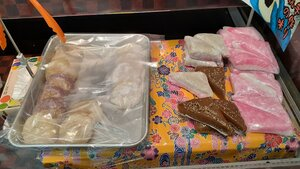 Mochi and muchi that can be bought fresh from Union