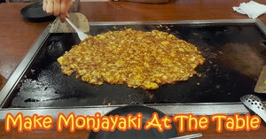 How To Make Monjayaki At The Table