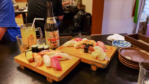 Father's Day with the Family — Sushi, Kirin Beer, & More