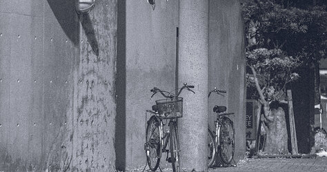 Two Bikes At Rest