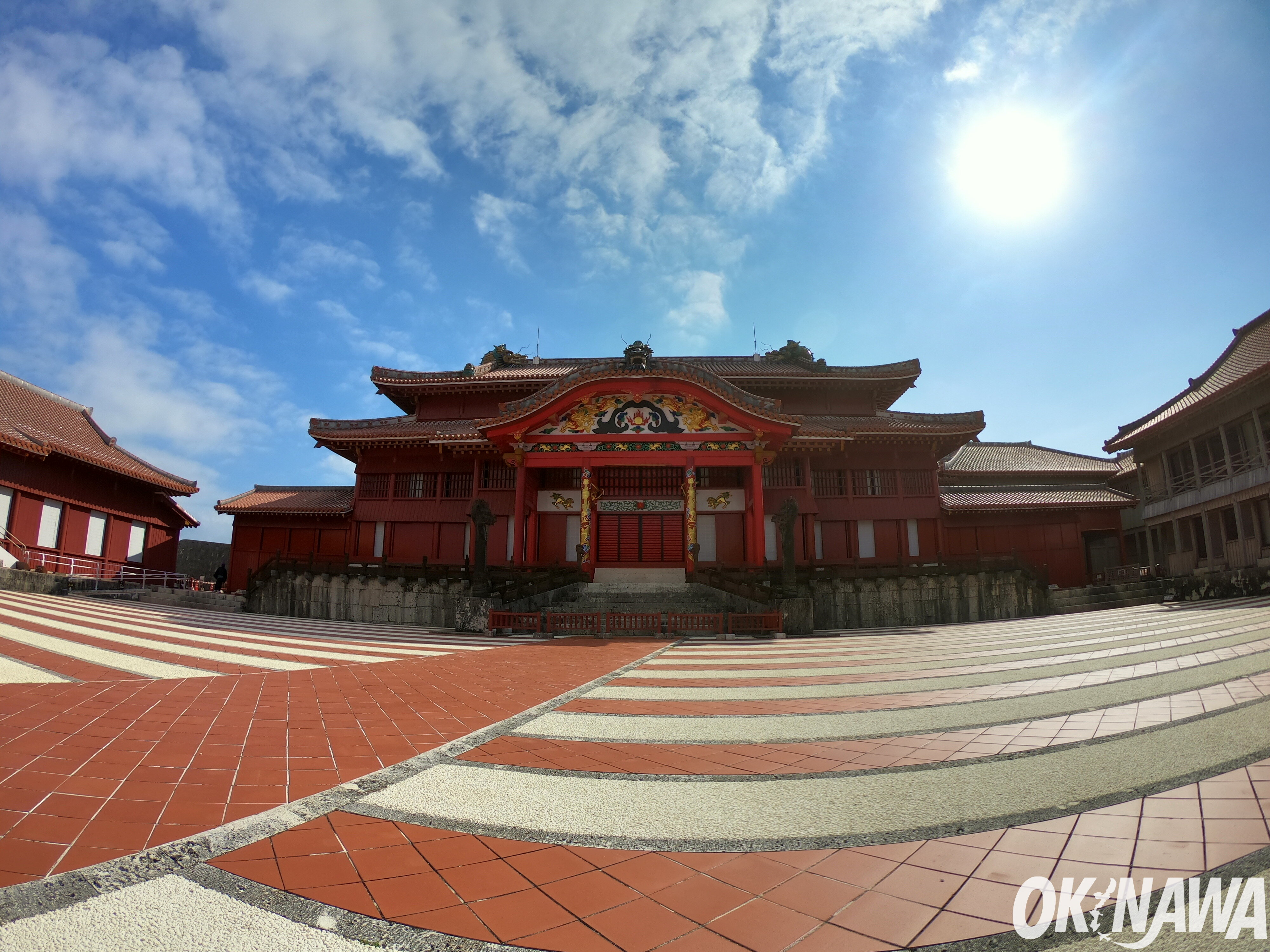 Shuri Castle: Before the Bustle