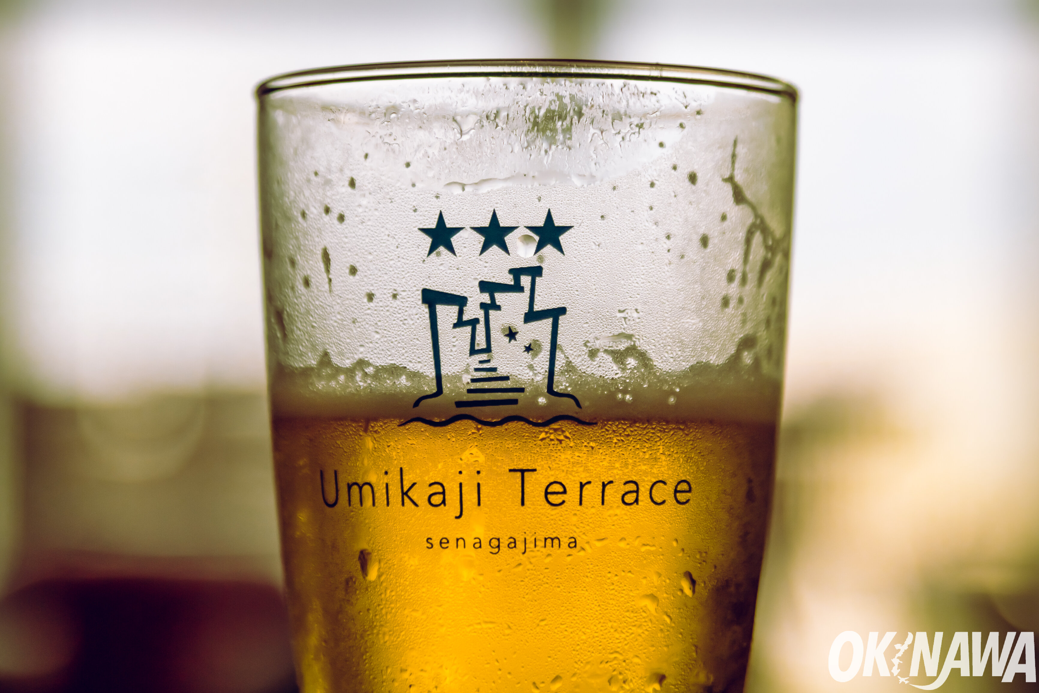 Umikaji Terrace Beer On Senaga Island